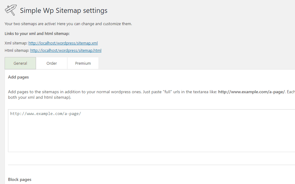 Simple Wp Sitemap Download Free Wordpress Plugin 4
