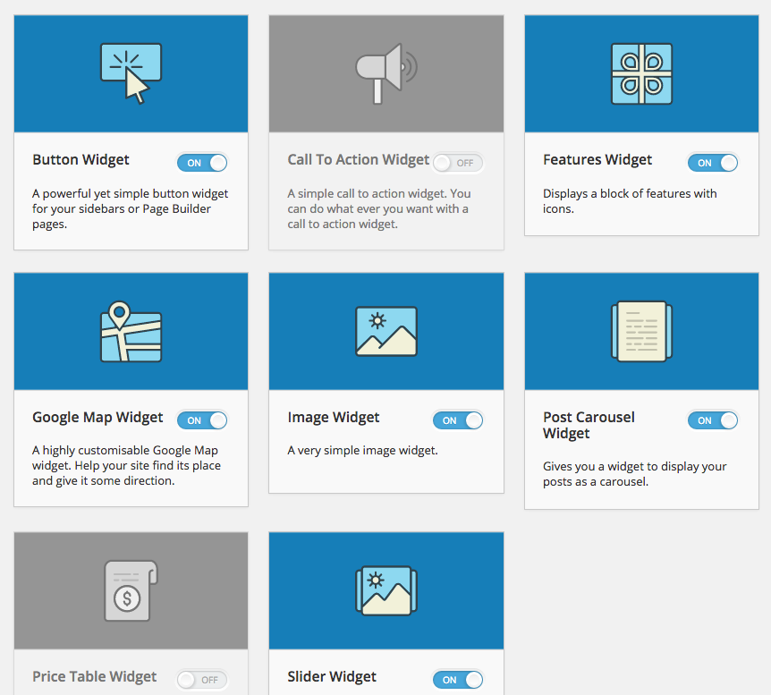 SiteOrigin Widgets Bundle Download Free Wordpress Plugin 5