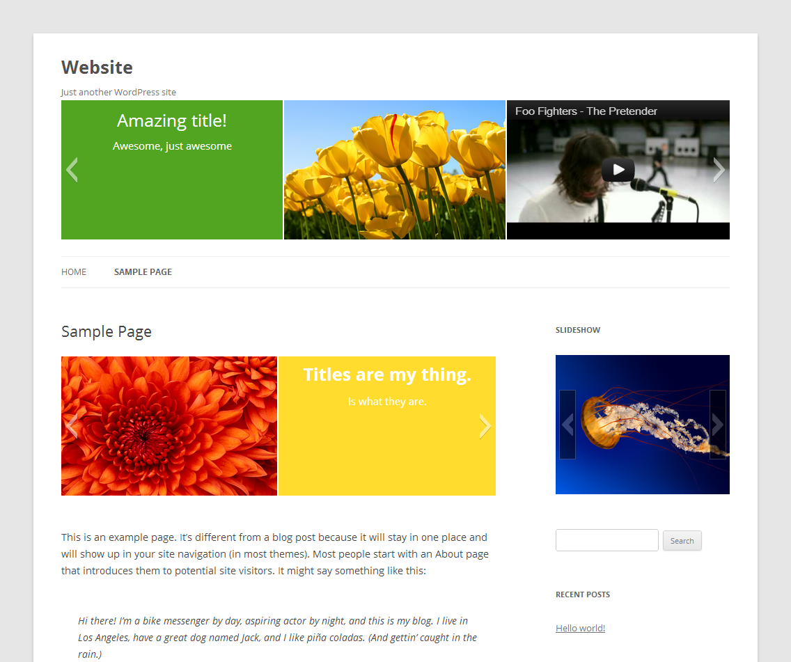 Slideshow Download Free Wordpress Plugin 3
