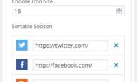 Social Icons Download Free WordPress Plugin