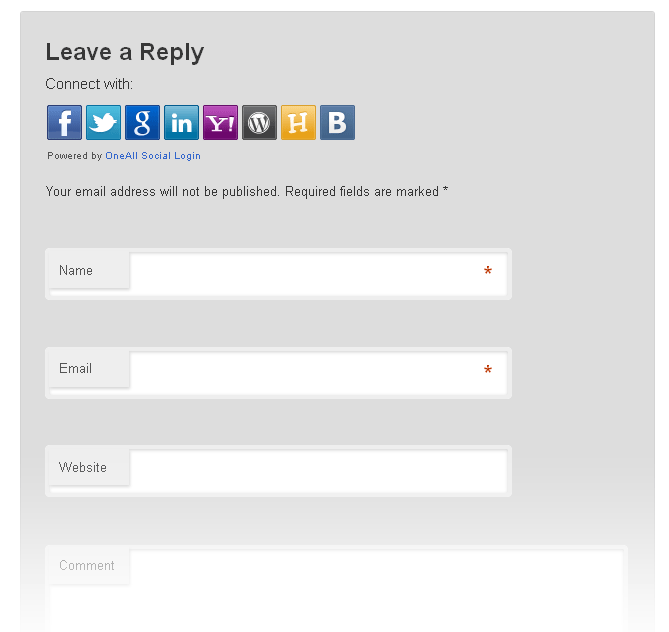 Social Login Download Free Wordpress Plugin 5