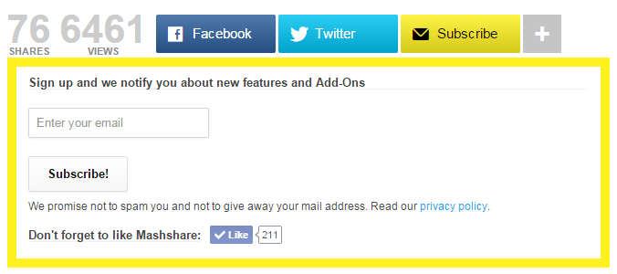 Social Media Share Buttons | MashShare Download Free Wordpress Plugin 5