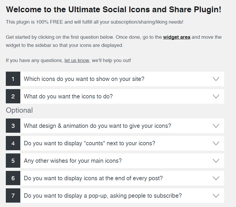 Social Media Share Buttons & Social Sharing Icons Download Free Wordpress Plugin 4