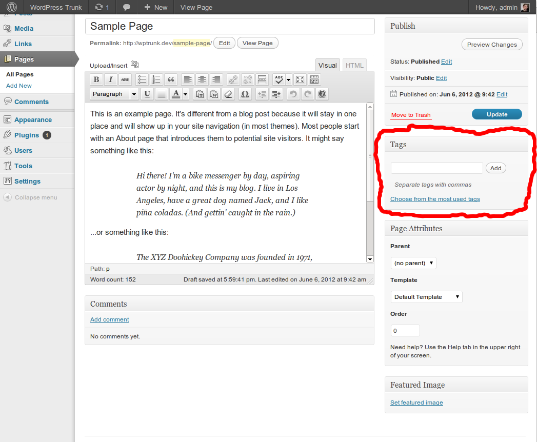 Tag Pages Download Free Wordpress Plugin 4