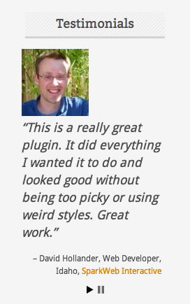 Testimonials Widget Download Free Wordpress Plugin 2