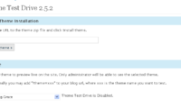 Theme Test Drive Download Free WordPress Plugin