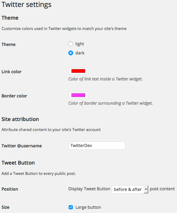 Twitter Download Free Wordpress Plugin 4