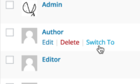 User Switching Download Free WordPress Plugin