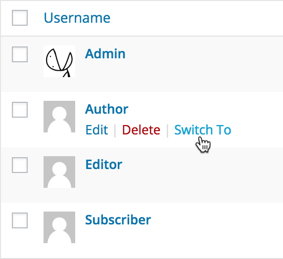 User Switching Download Free Wordpress Plugin 5