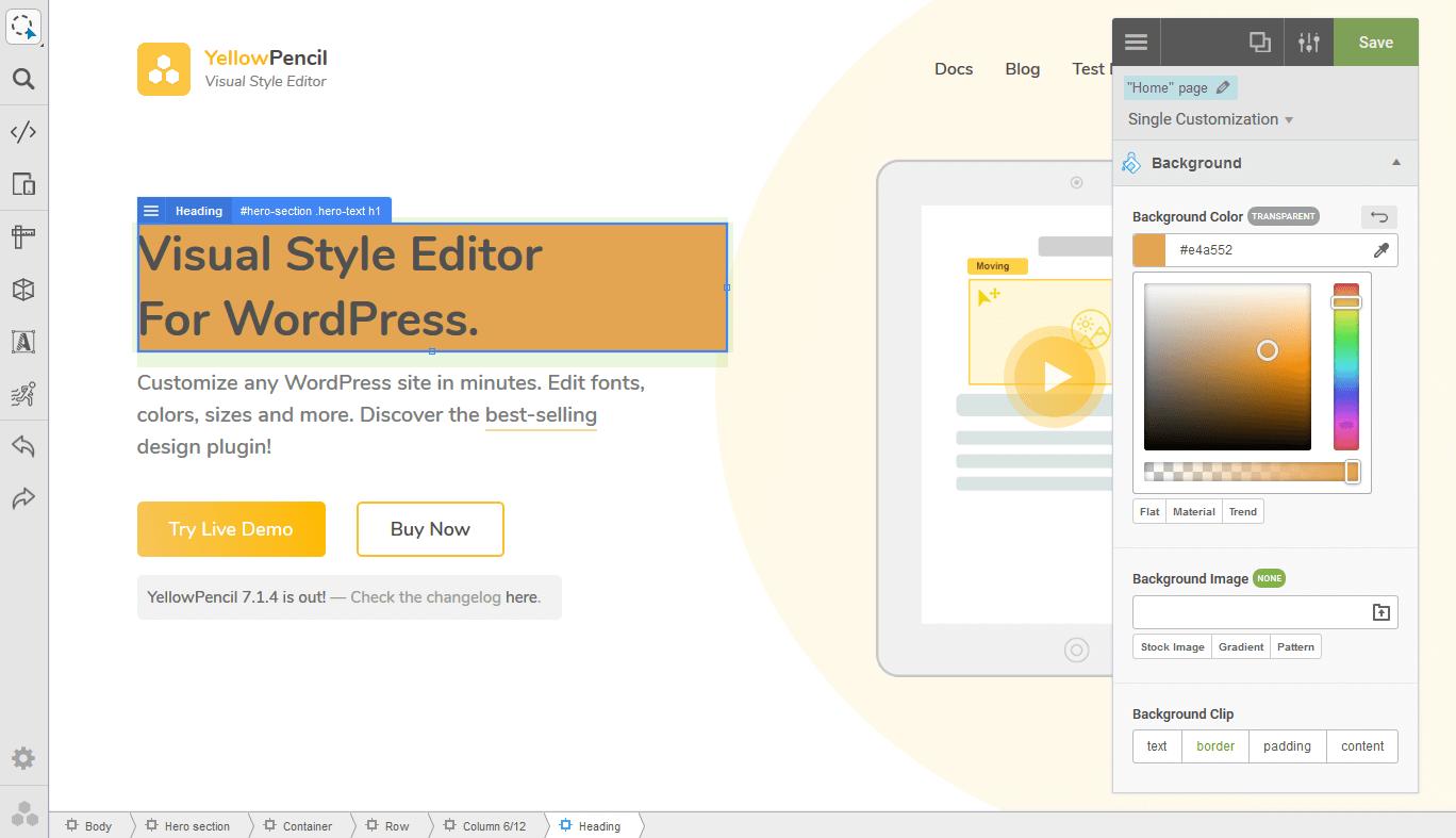 Visual CSS Style Editor Download Free WordPress Plugin