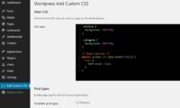 WP Add Custom CSS Download Free WordPress Plugin