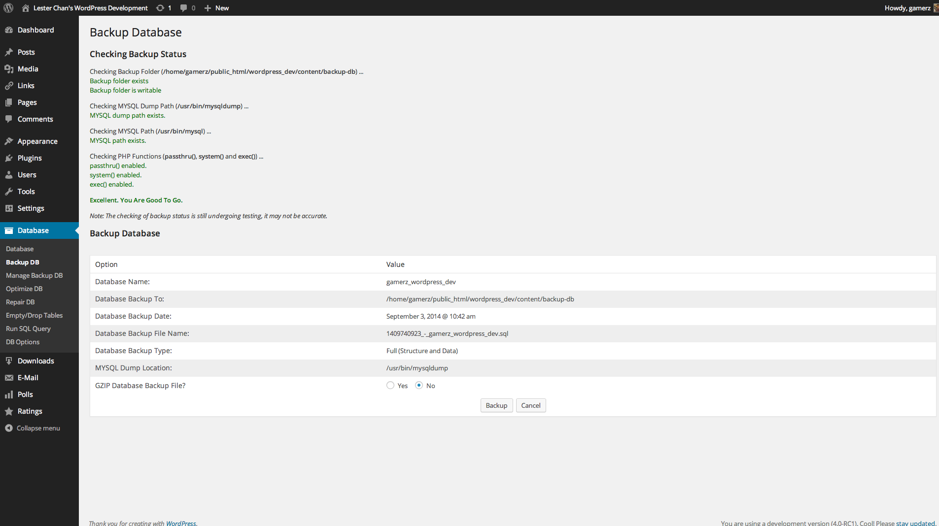 WP-DBManager Download Free Wordpress Plugin 5