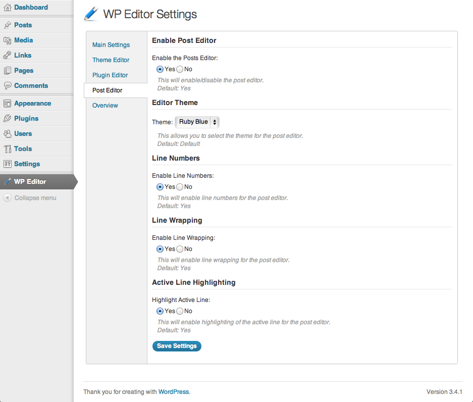 WP Editor Download Free Wordpress Plugin 2