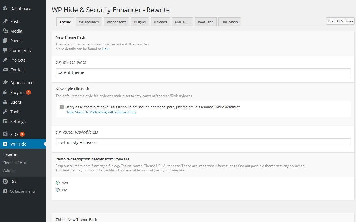 WP Hide & Security Enhancer Download Free Wordpress Plugin 3