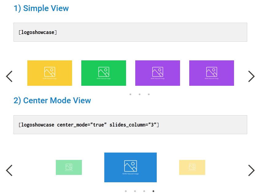 WP Logo Showcase Responsive Slider Download Free Wordpress Plugin 3