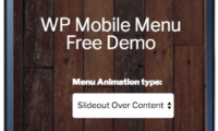 WP Mobile Menu Download Free WordPress Plugin