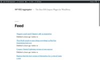 WP RSS Aggregator Download Free WordPress Plugin