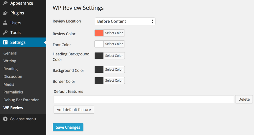 WP Review Download Free WordPress Plugin