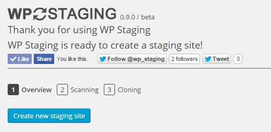 WP Staging – DB & File Duplicator & Migration Download Free Wordpress Plugin 1