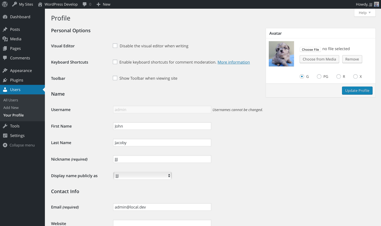 WP User Avatars Download Free Wordpress Plugin 2