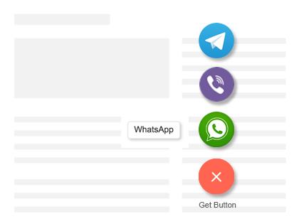 WhatsHelp Chat Button Download Free Wordpress Plugin 3