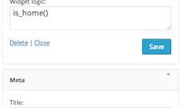 Widget Logic Download Free WordPress Plugin