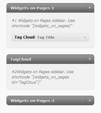 Widgets on Pages Download Free Wordpress Plugin 4