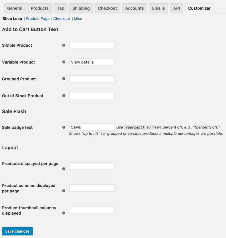 WooCommerce Customizer Download Free Wordpress Plugin 3