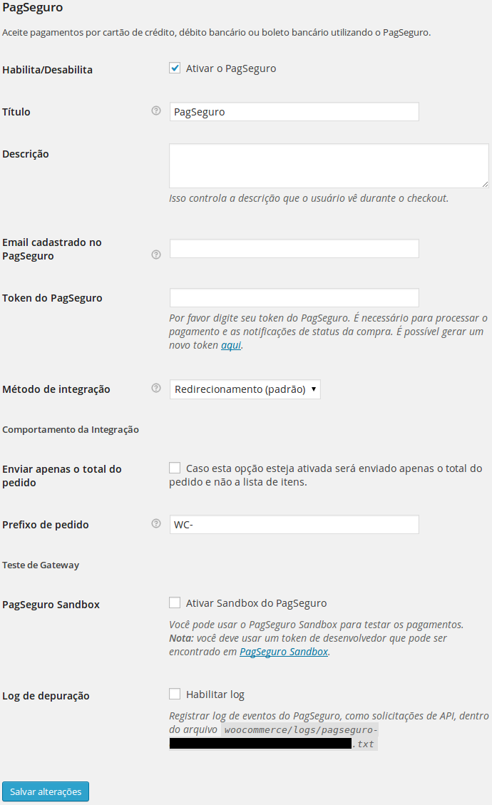 WooCommerce PagSeguro Download Free Wordpress Plugin 1