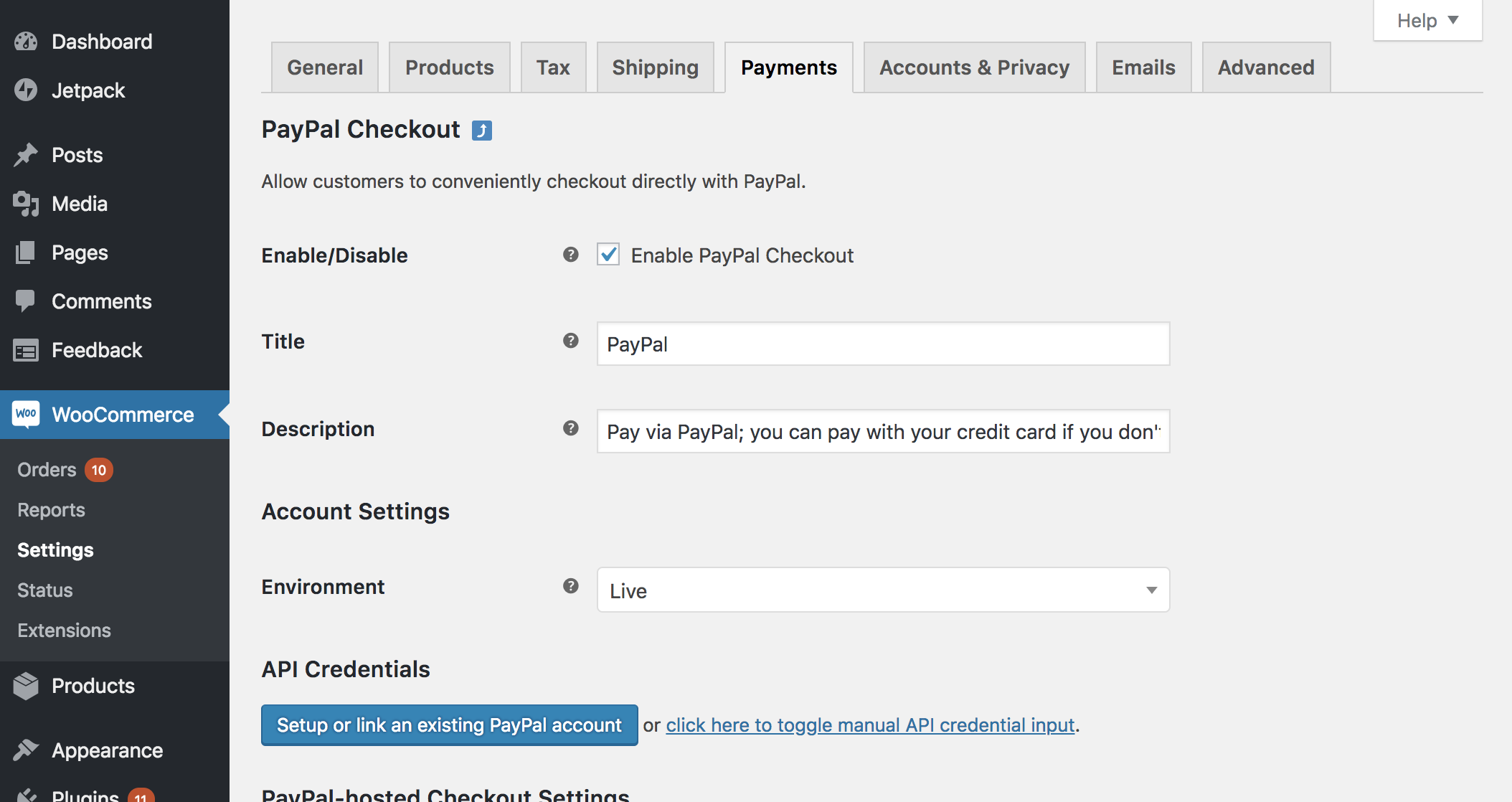 WooCommerce PayPal Checkout Payment Gateway Download Free Wordpress Plugin 1