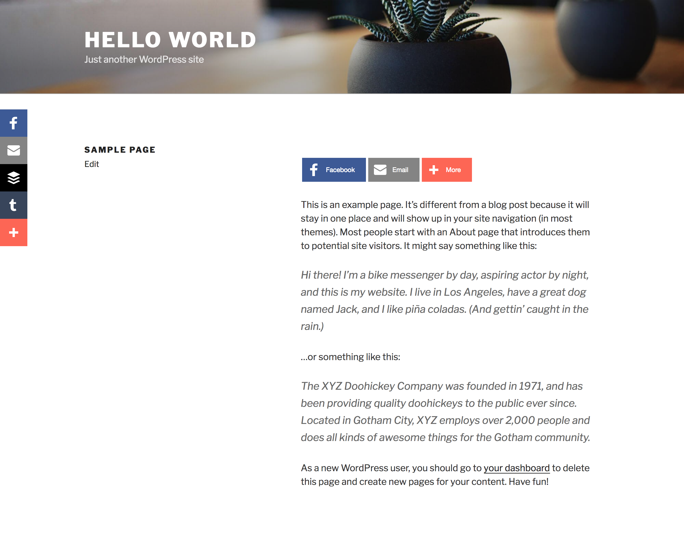WordPress Share Buttons Plugin – AddThis Download Free Wordpress Plugin 2