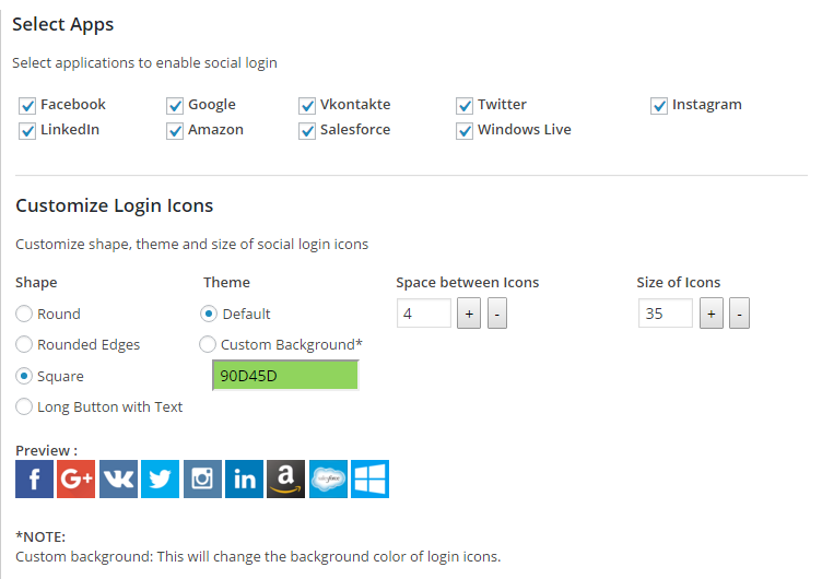 WordPress Social Login (Facebook, Google, Twitter) Download Free Wordpress Plugin 3