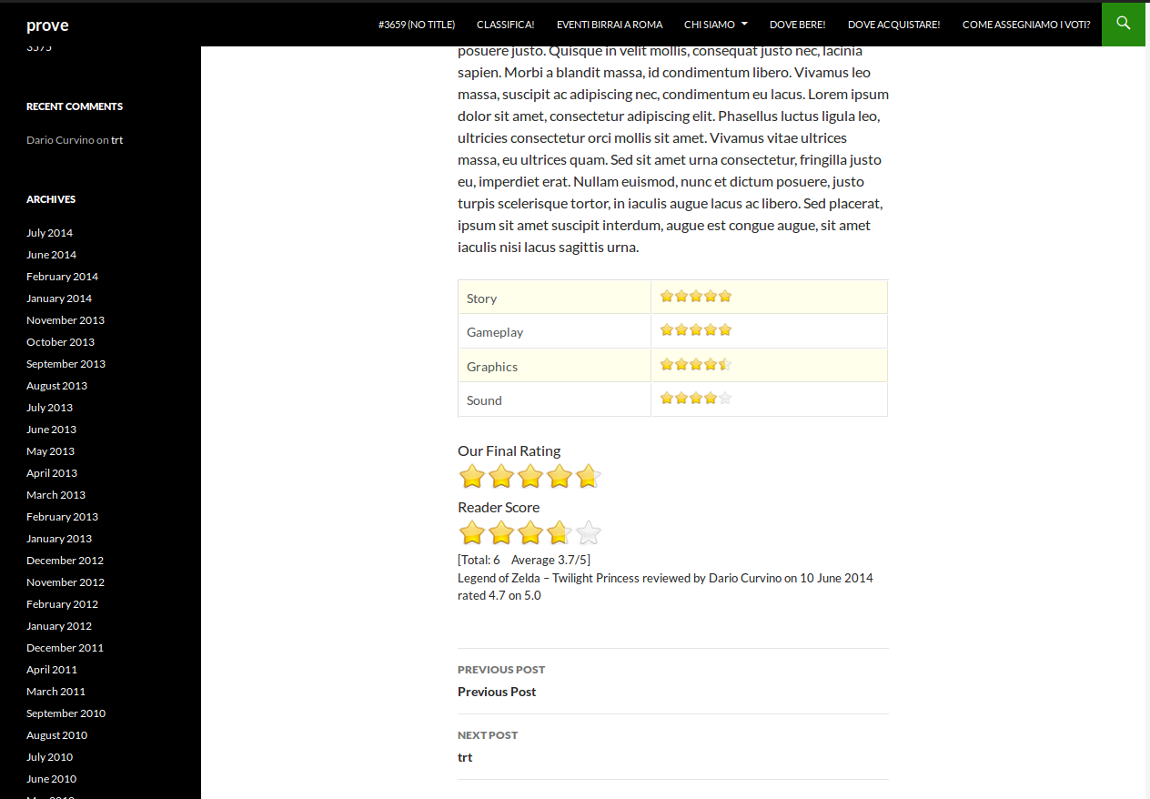 Yasr – Yet Another Stars Rating Download Free WordPress Plugin