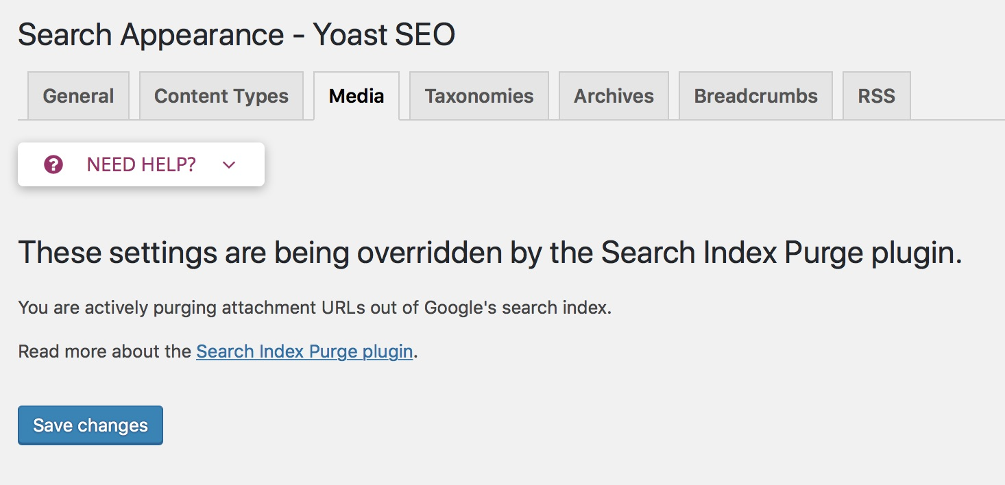 Yoast SEO: Search Index Purge Download Free Wordpress Plugin 4