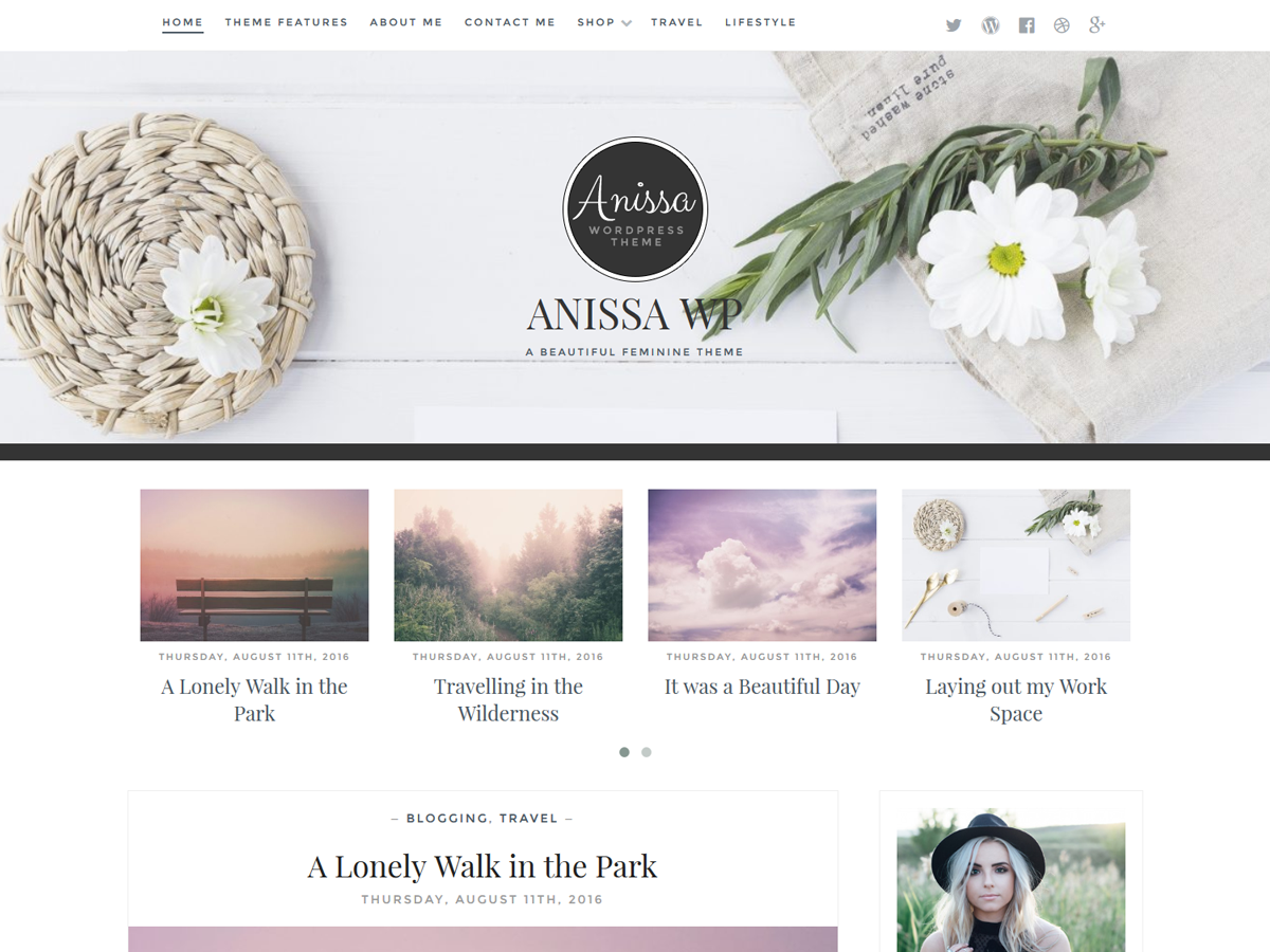 Anissa Download Free Wordpress Theme 1