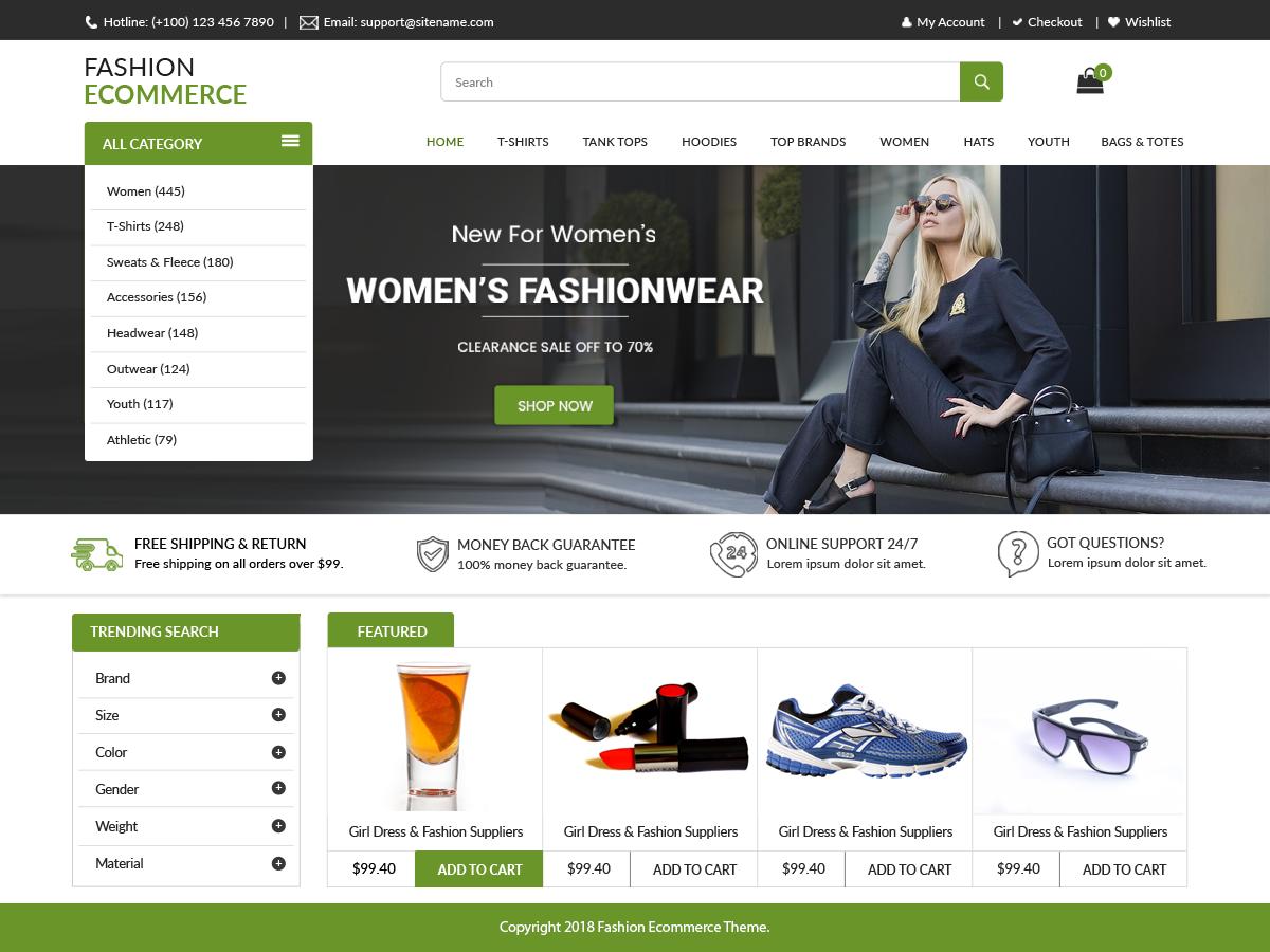 LZ Fashion Ecommerce Download Free Wordpress Theme 5