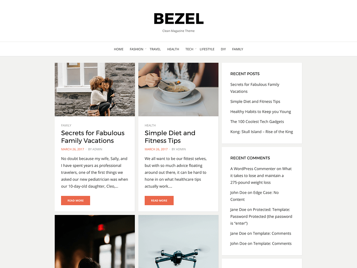 Bezel Download Free Wordpress Theme 4