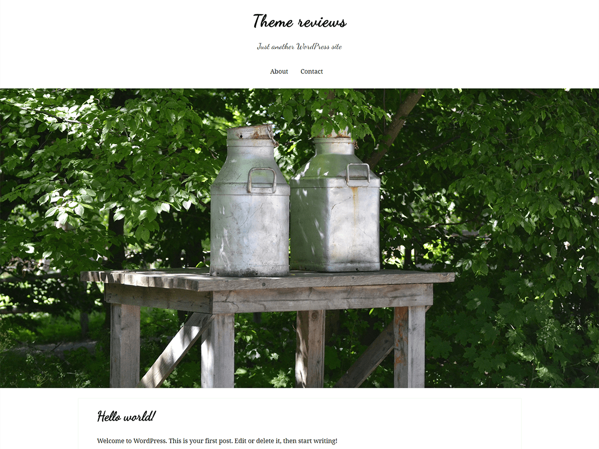 Farm Download Free Wordpress Theme 3