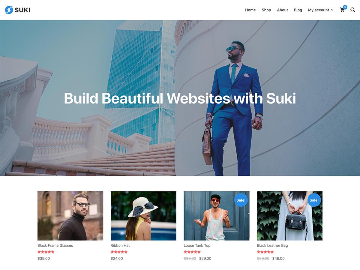 Suki Download Free Wordpress Theme 3
