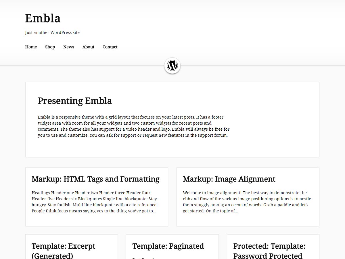 Embla Download Free Wordpress Theme 4