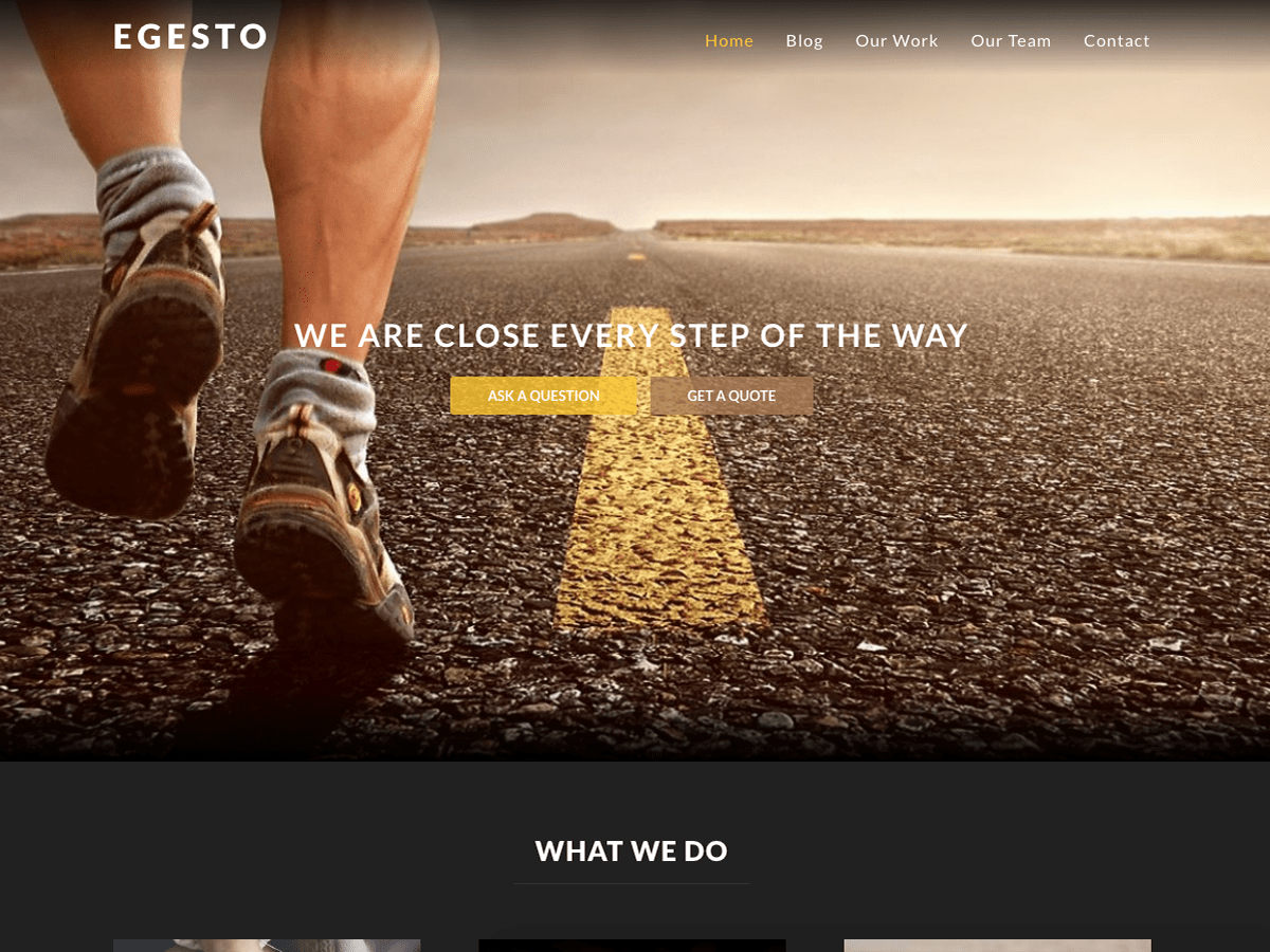 Egesto Lite Download Free Wordpress Theme 5