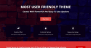 One Page Power Download Free WordPress Theme