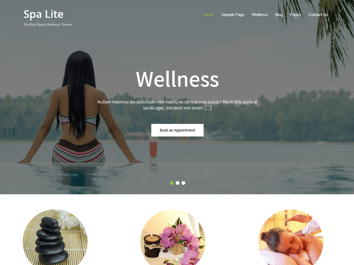 Spa Lite Download Free Wordpress Theme 5