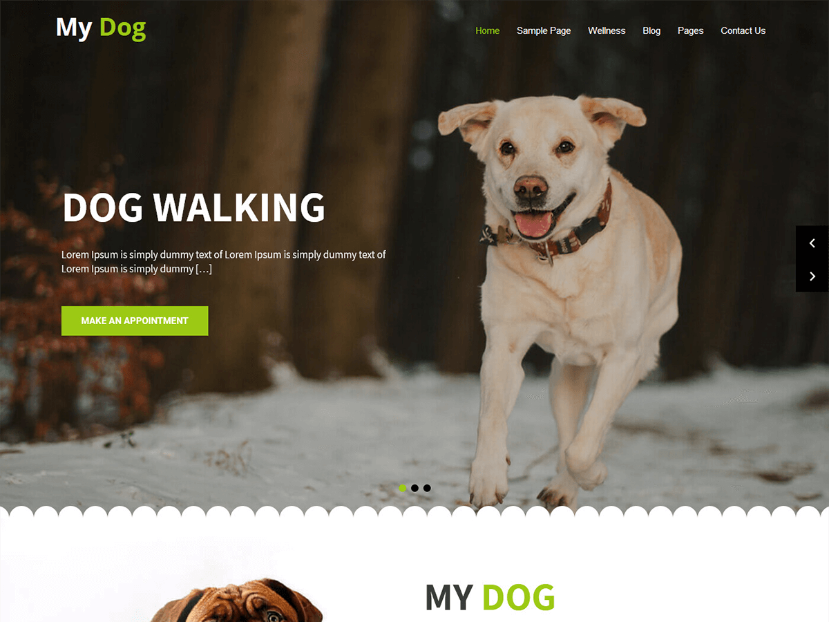 My Dog Lite Download Free Wordpress Theme 5