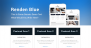 Renden Blue Download Free WordPress Theme