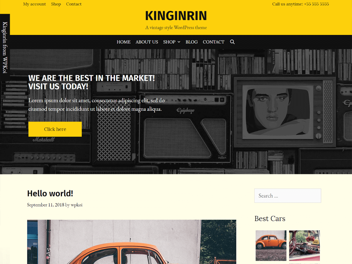 Kinginrin Download Free Wordpress Theme 1