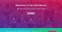 Parallax Eleven Download Free WordPress Theme