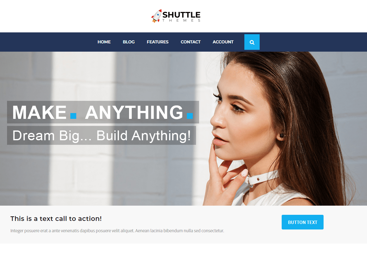 Shuttle allBusiness Download Free Wordpress Theme 2