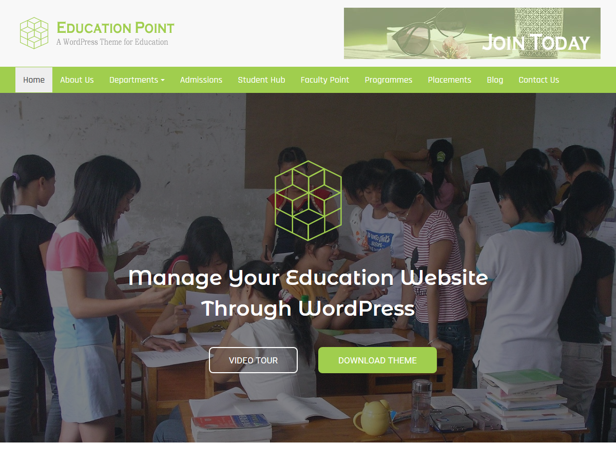 Education Point Download Free Wordpress Theme 3