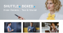 Shuttle Boxed Download Free WordPress Theme